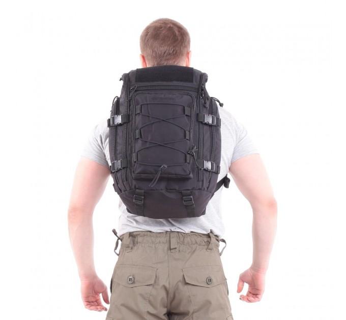 Рюкзак KE Tactical Sturm 30л Polyamide 500 Den черный