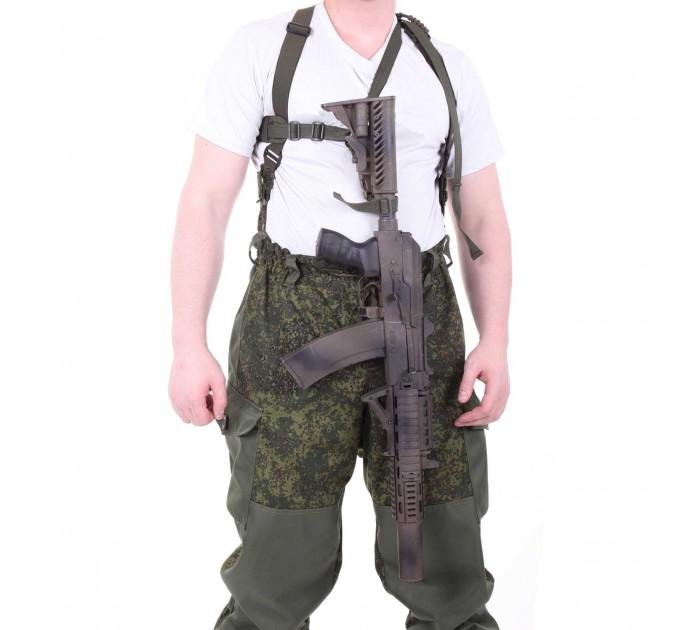 Баул-рюкзак KE Tactical Grand Tour 100л Polyamide 500 Den ЕМР со стропами олива