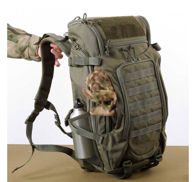 Рюкзак KE Tactical Sturm 40л Polyamide 500 Den черный
