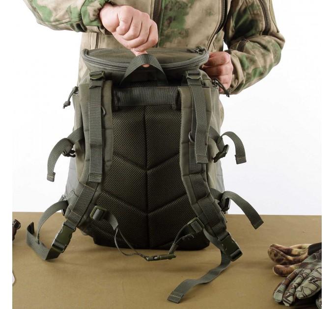 Рюкзак KE Tactical Sturm 30л Polyamide 1000 Den олива темная